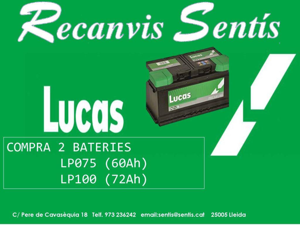 baterias lucas
